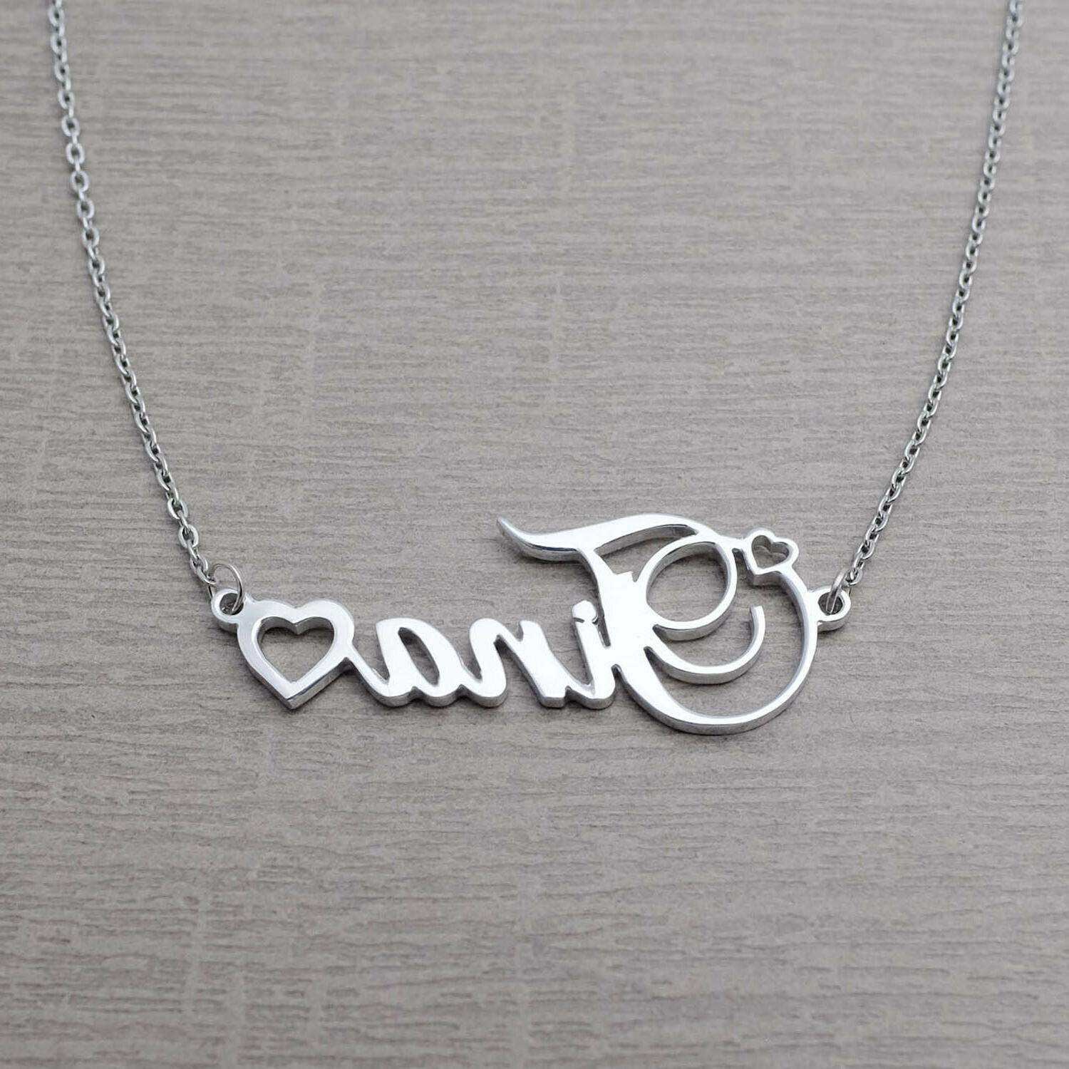 Name Necklace Custom Pendant Gift for
