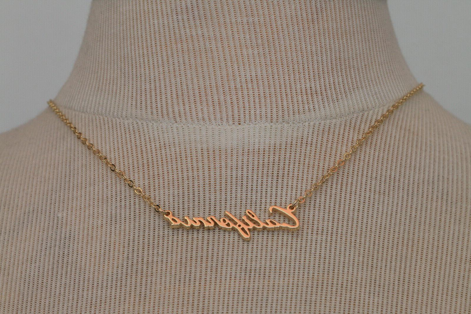 New Pendant Plate Chain Style