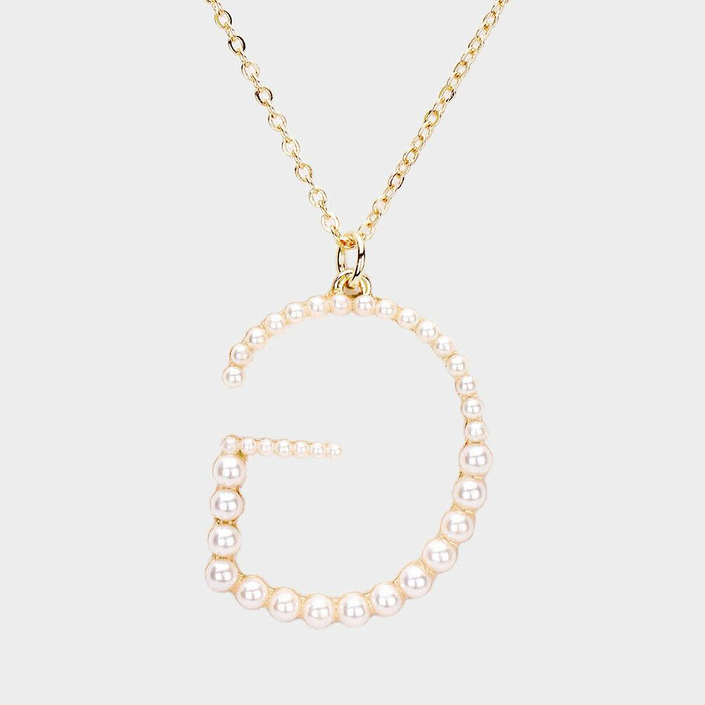 NEW Alphabet Name Initial Statement Gold Chain