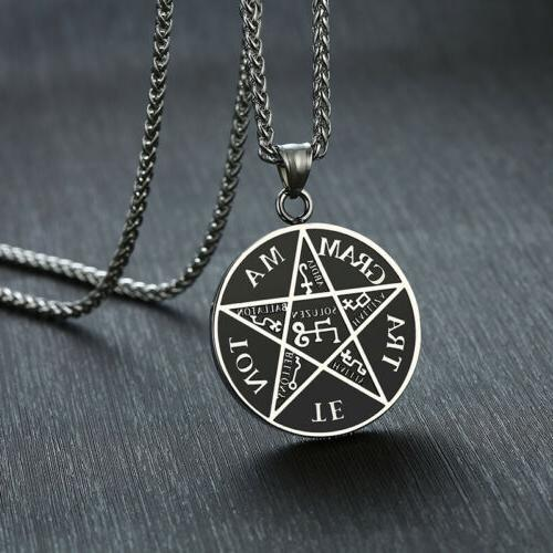 pentagram of solomon pendant tetragrammaton name of