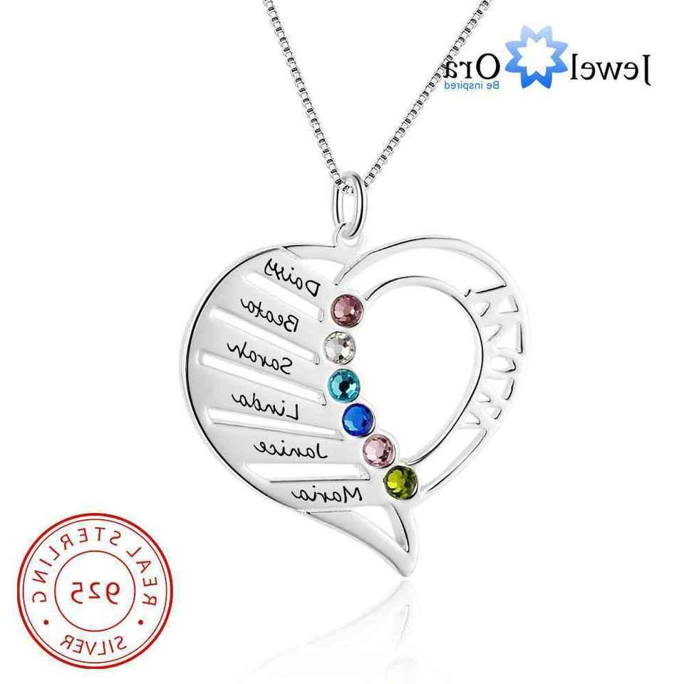Personalized Birthstone Necklace Necklace