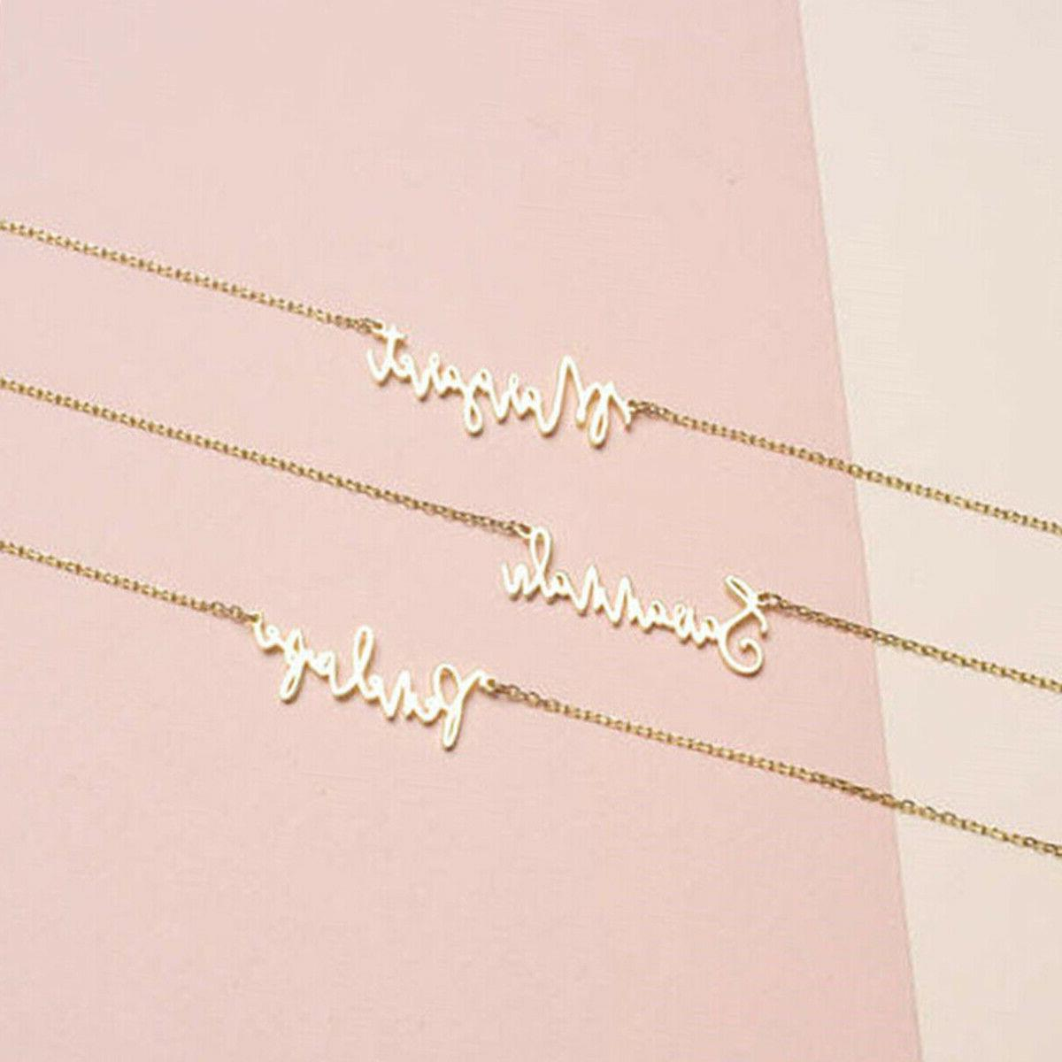 Personalized Necklace Steel Chain Valentine's Gift