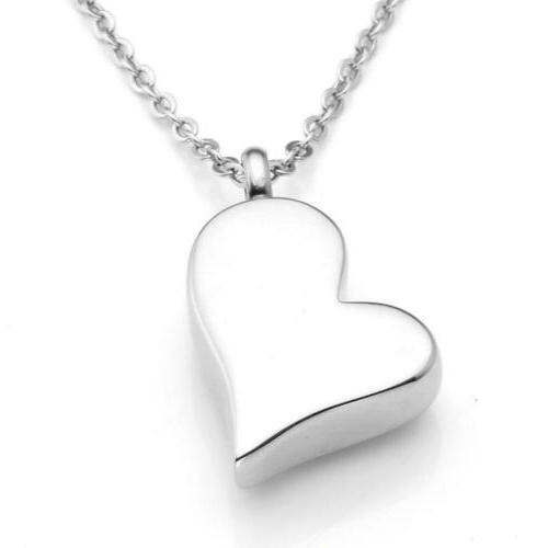 Jovivi Personalized Stainless Steel Heart Necklace