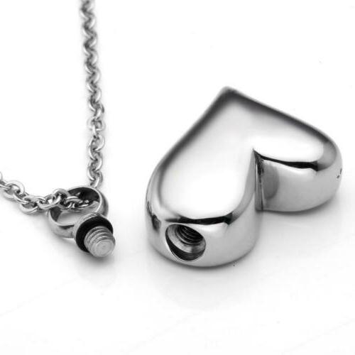 Jovivi Stainless Heart Necklace