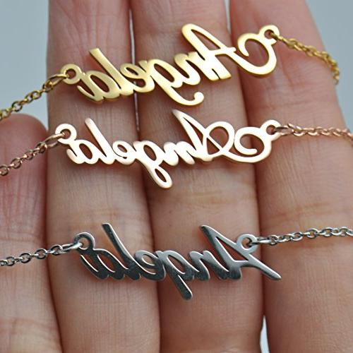 HUAN Name Necklace Words