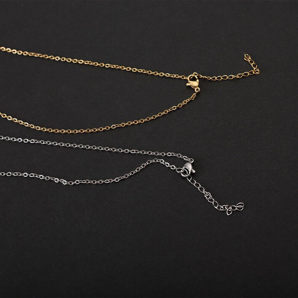 Personalized Engraved Your Name Necklace Pendant