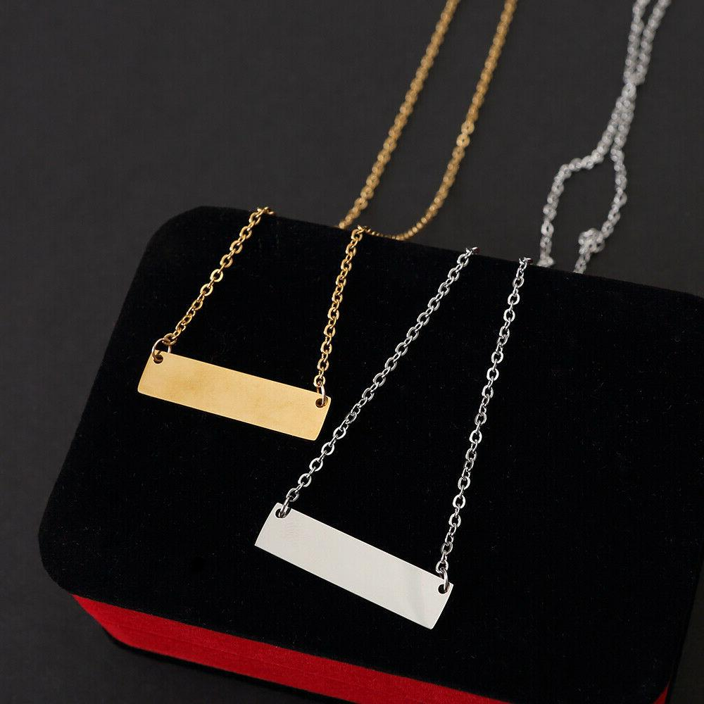 Personalized Your Stainless Steel Necklace