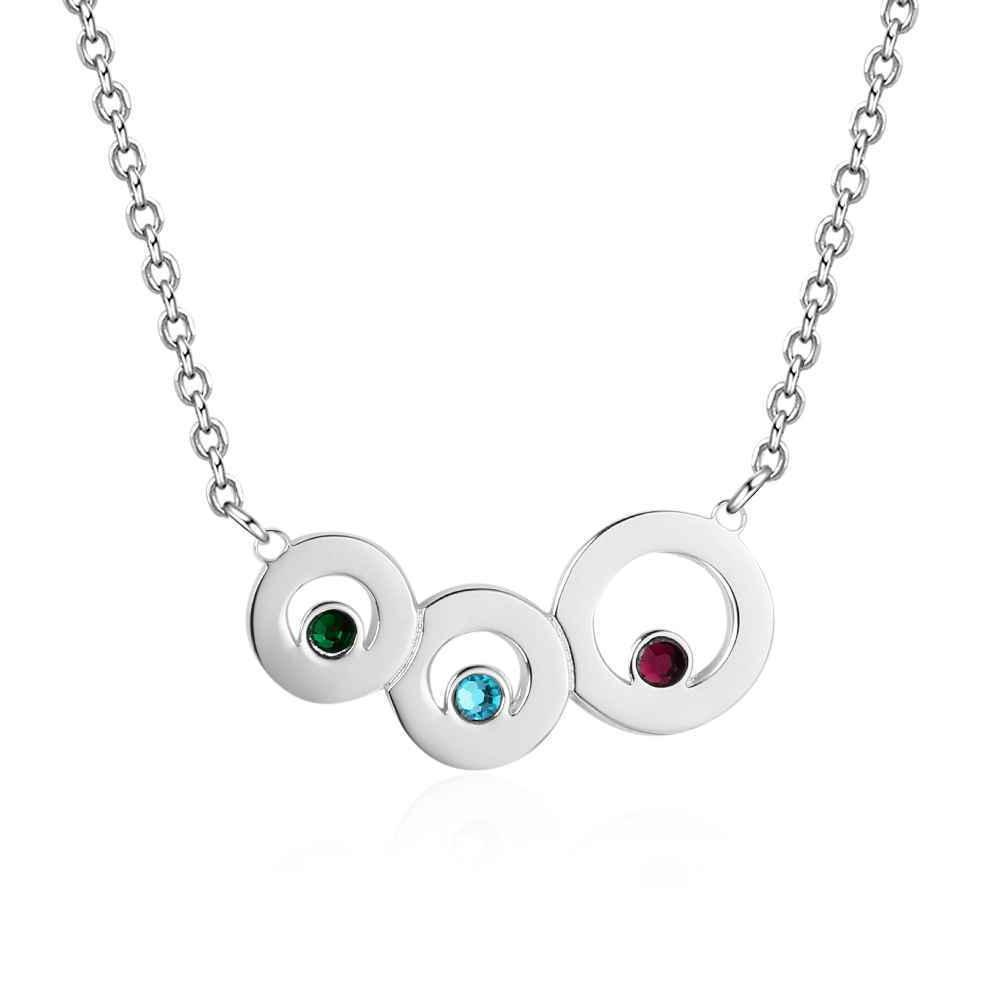 Personalized Engraving Names Birthstones for Kids