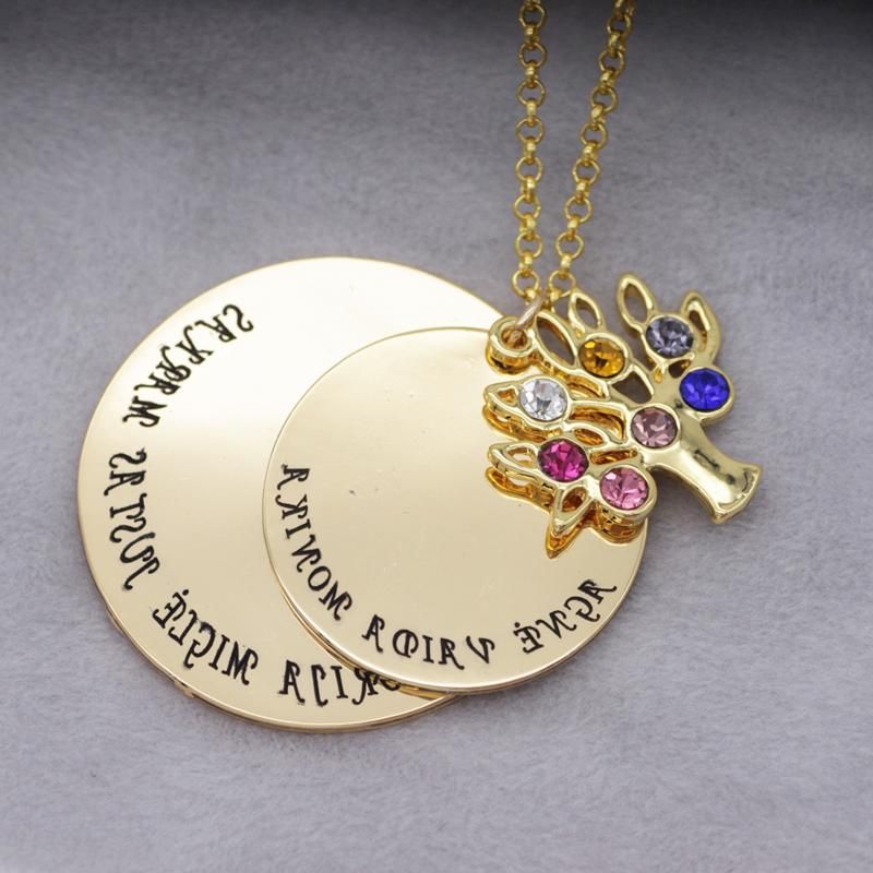 Personalized Tree <font><b>Necklace</b></font> New Custom Made Any YP2548
