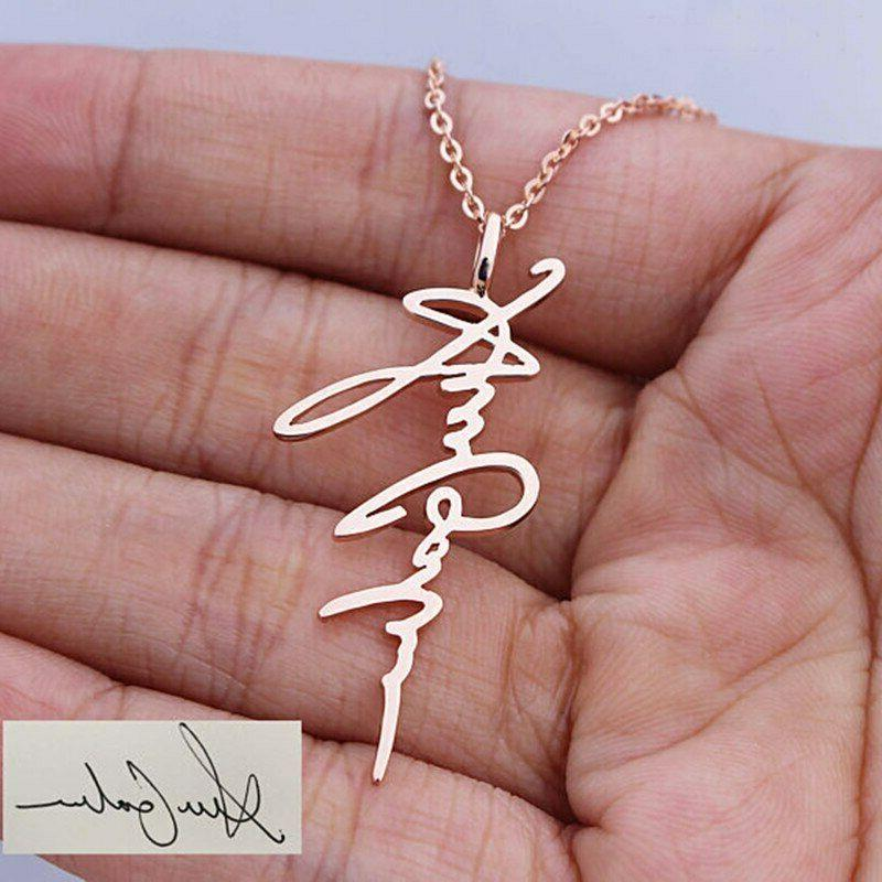 Personalized Pendant Necklaces Custom Gift
