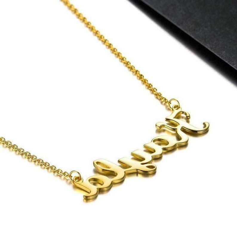 Personalized Necklace Silver Name Necklace