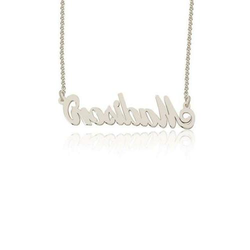 Personalized Madison Custom made in stock, Sterling