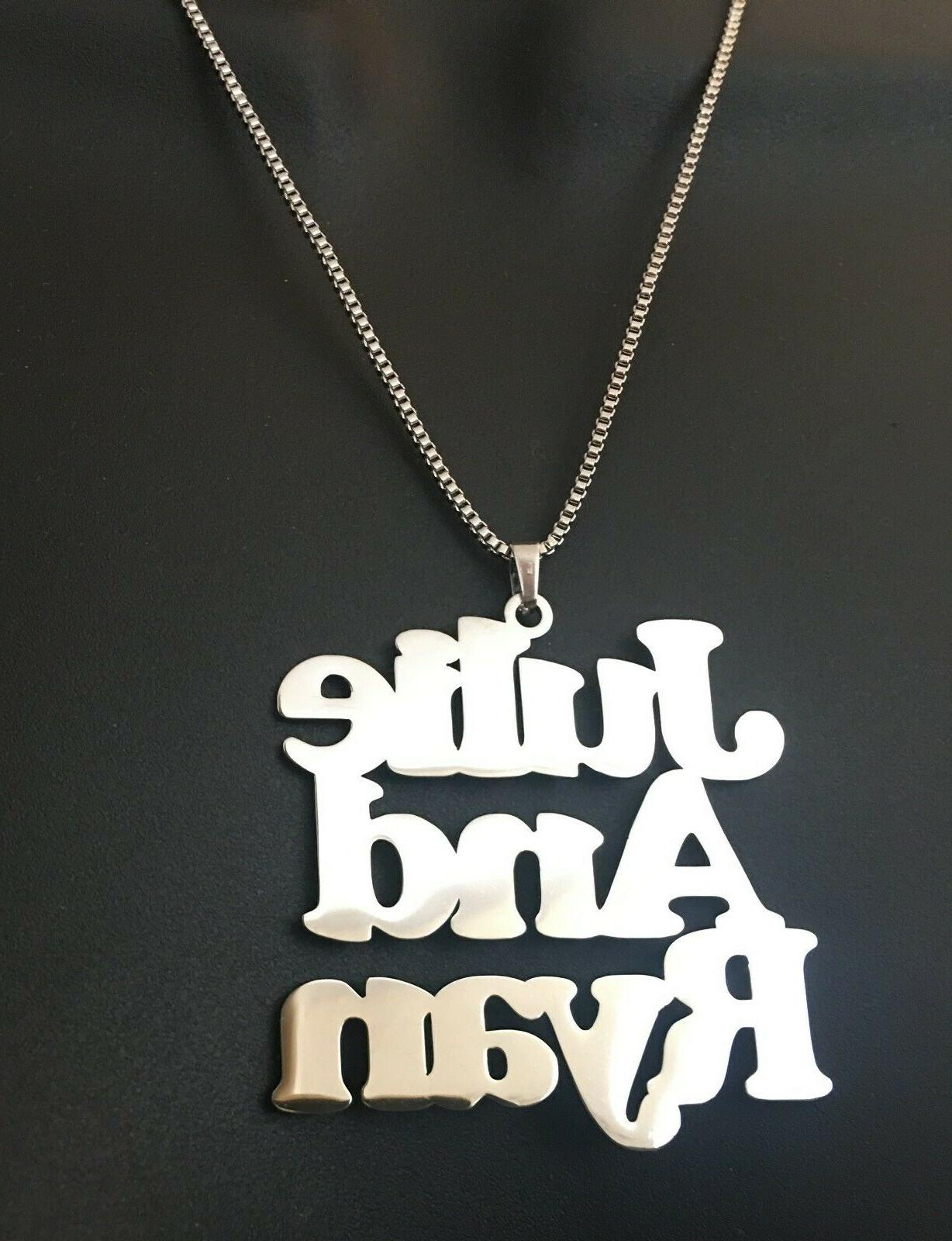 Personalized, one or more name necklace