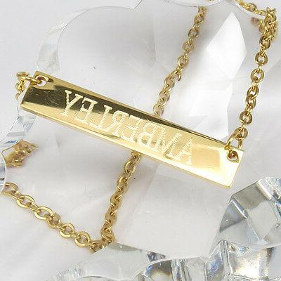 Personalized Custom Any Necklace Stainless Steel
