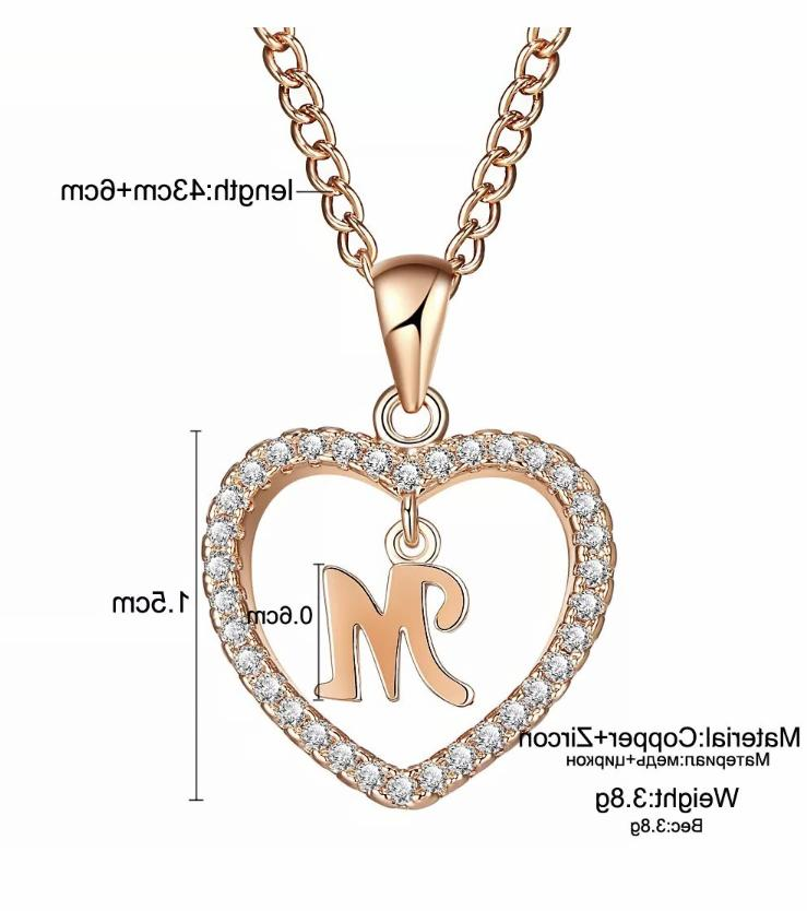 Personalized Necklace Gold Color