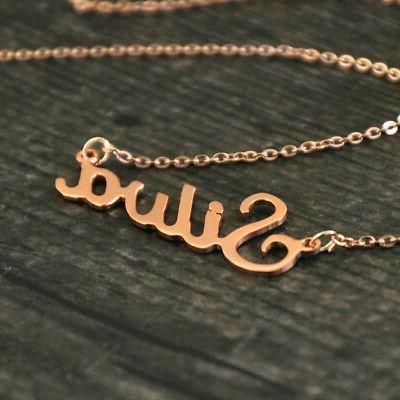 Personalized Name Stainless Steel Gift for Women