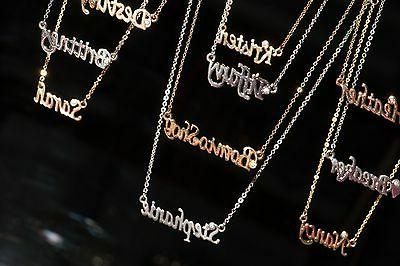 Personalized Name Necklace with Rhinestone Buy 4 get 2 FREE!