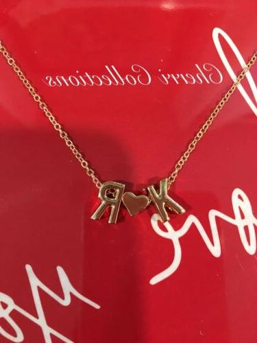 Personalized Necklace Alphabet Plated