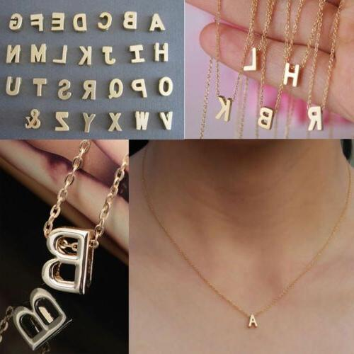 Fashion Name Pendant Letter Necklace Chain For Women Girls G