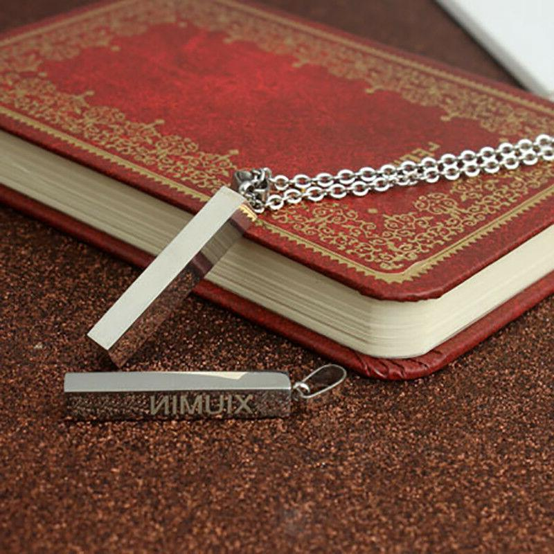 Personalized Pendant Necklace Custom Any Name Gift for
