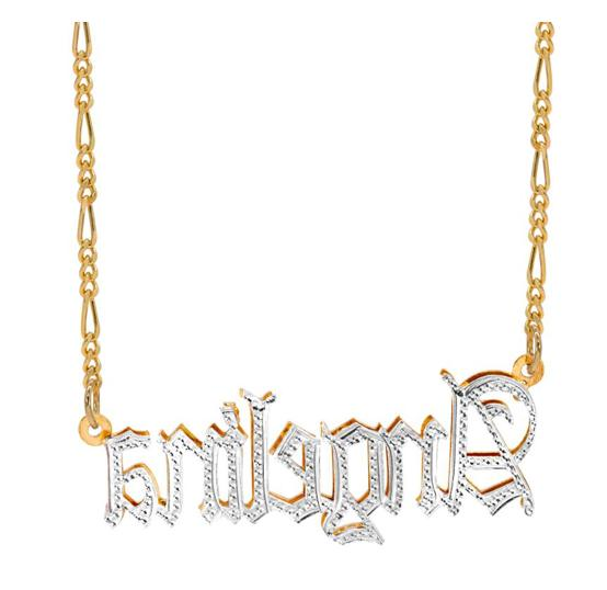 Personalized Silver Necklace + STYLES
