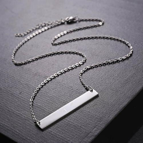 Engraved Necklace Custom
