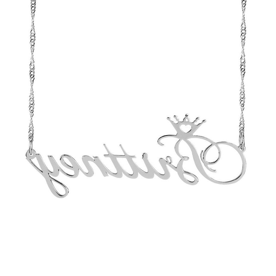 Name Plate Necklace 2020