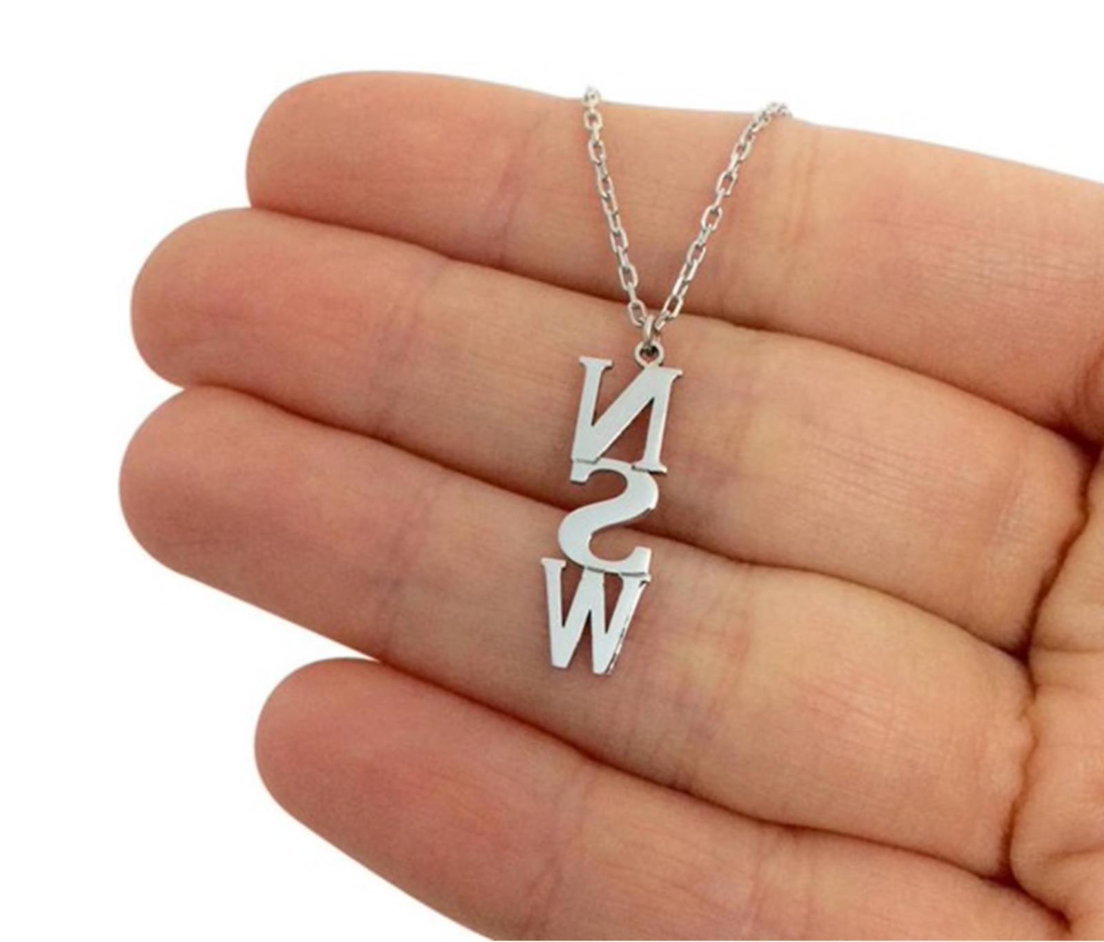Personalized Name Necklace Custom Jewelry Women Chain