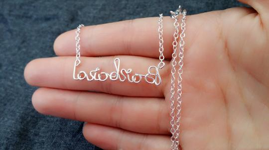 Personalized Name Necklace, Custom Name Necklace