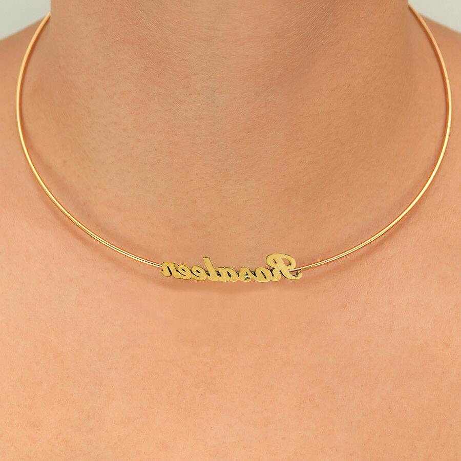 Personalized Gold & Sterling Name