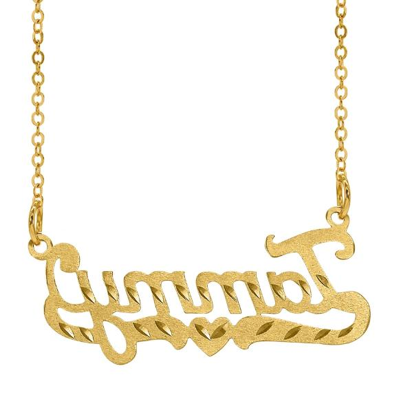 Personalized Any Name Script Chain USA
