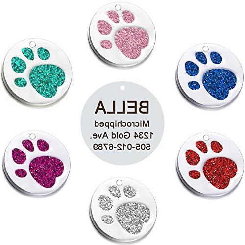 pet id tags dogs cats