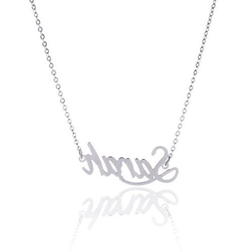 sarah name necklace daily wear jewelry