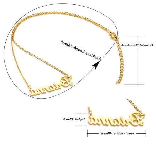 Stainless Steel Golden Jewelry Gift
