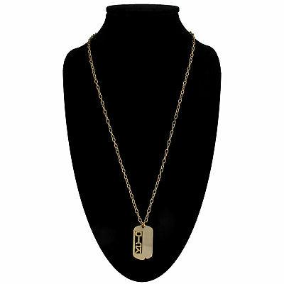 """Vintage Tone """"Dick"""" Name Necklace"""