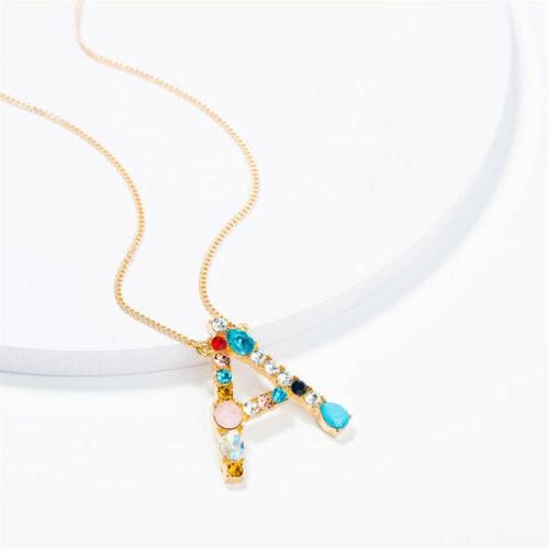 Women's 26 Personalized Letter Necklaces Jewelry New