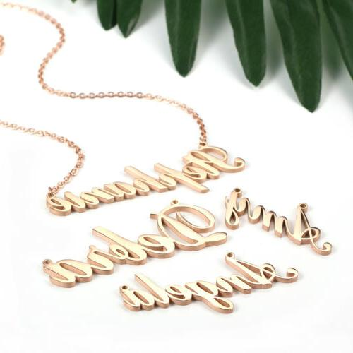 Women's Unique Name Custom Necklace Chain Gift