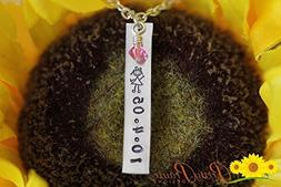 Little Girl Jewelry - Daughter Necklace - My Daughter Jewelr