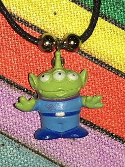 LITTLE GREEN MEN NECKLACE Cartoon Figure Anime NEW Toy Story