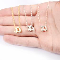 LTF Ms. Letter <font><b>Necklace</b></font> Initial <font><b