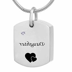 misyou Jewelry Son Carveemation Ad Dog Tag Crshes Necklace U
