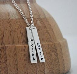 Multiple Name Necklace - Personalized Name Jewelry for Women