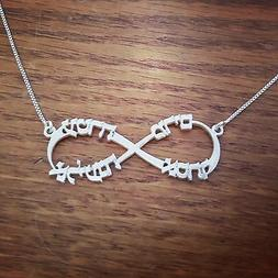 My name in Hebrew, Hebrew name necklace, New baby gift, Moth