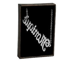 """Name Necklace """"MONIQUE"""" – 18K Gold Plated 