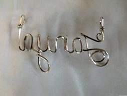 "Name necklace, Personalized name, TANYA or ANY name on 18"" s"