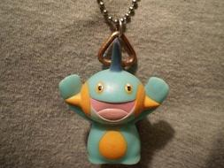 novelty pokemon marshtomp figure charm necklace anime
