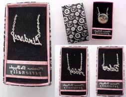 personalized custom name necklaces 18 chain gift