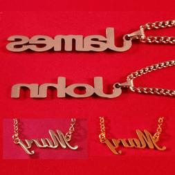 Personalized  Name Plate Necklace
