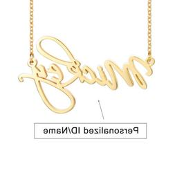 Personalized Letter Name Women Necklace Choker Custom DIY We