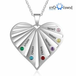 Personalized Mothers Necklace for Women Custome Family Name
